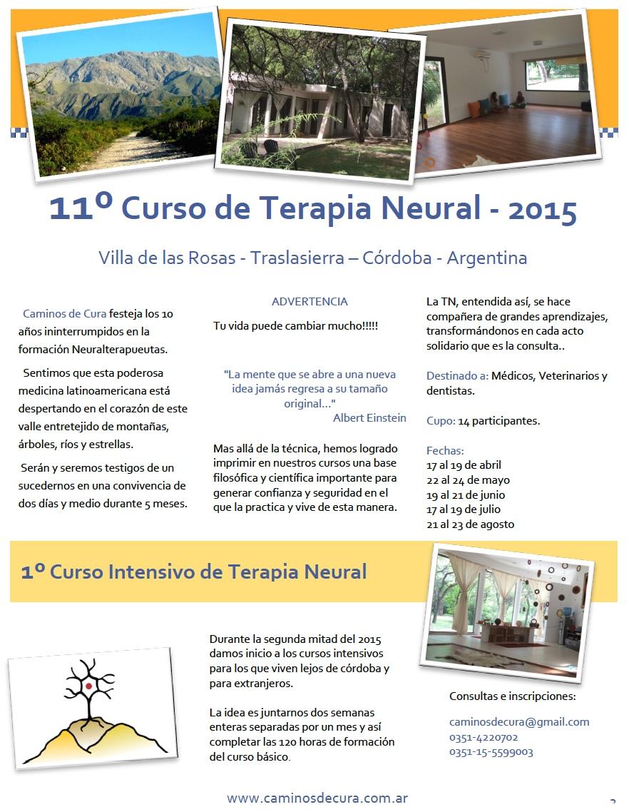 11º Curso de TN Córdoba 2015
